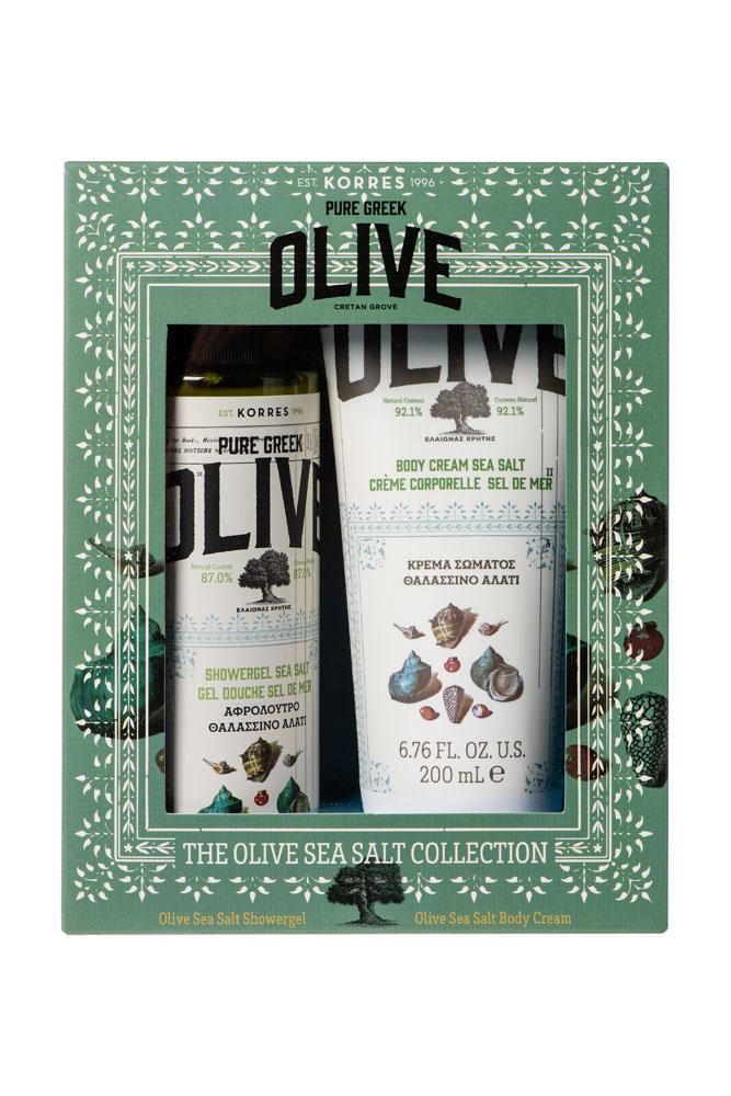 Korres Set Olive & Sea Salt