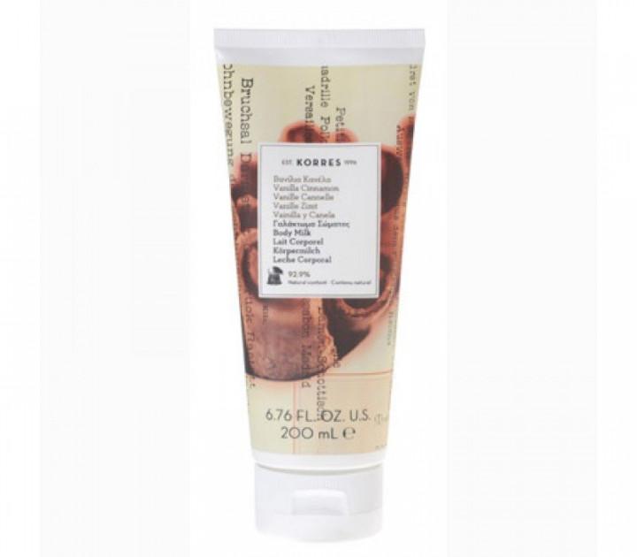 Korres Vanilla Cinnamon Body Milk 250ml