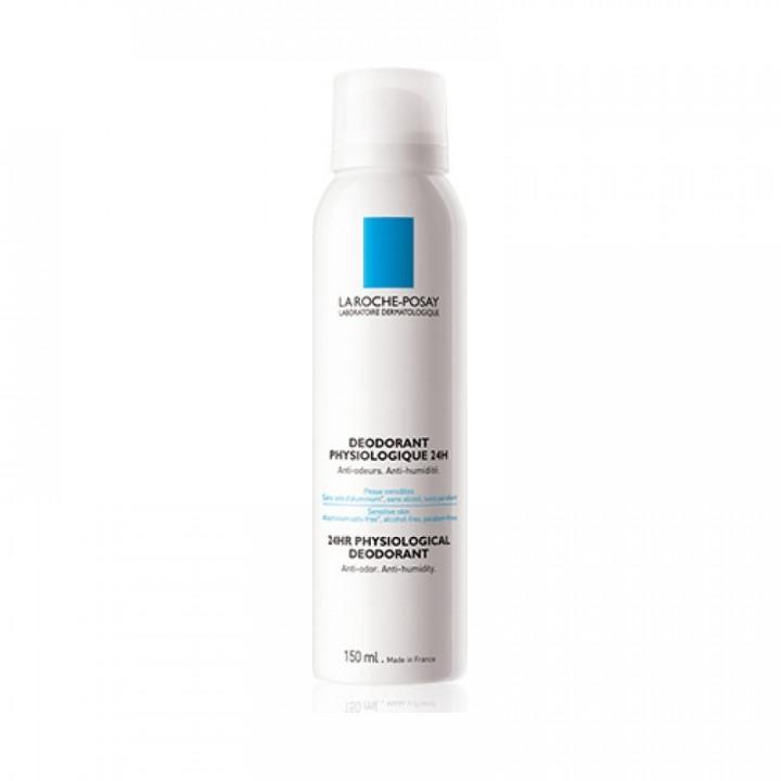 La Roche Posay Spray Deodorant Physiological 24H 150ml