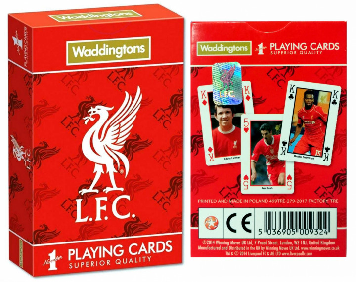 Waddingtons - Liverpool - Playing Cards