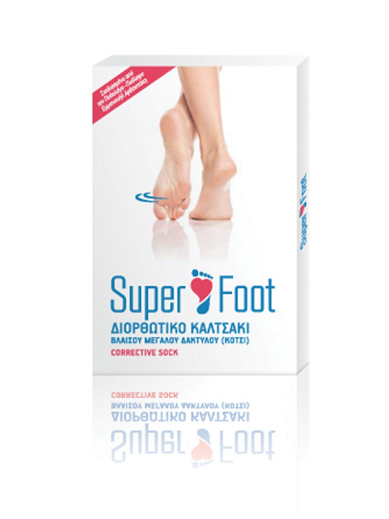 Superfoot Supportive For Bunion Pair Socks