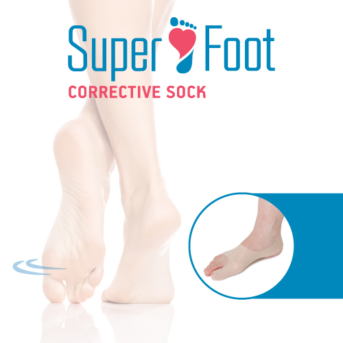 Superfoot Supportive Sock For Bunion 1 Piece
