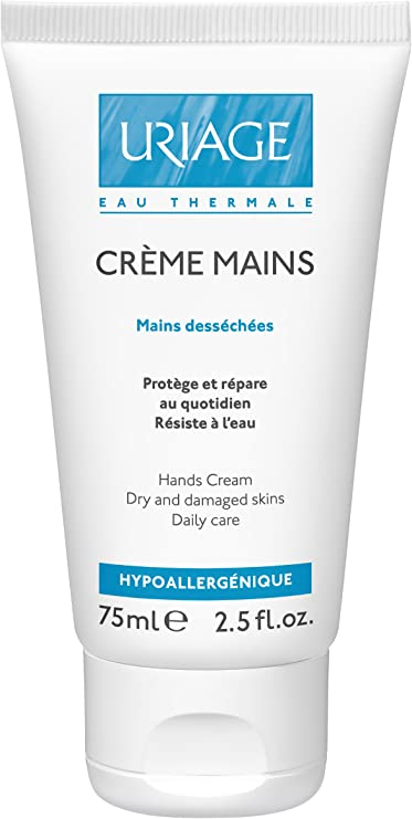 Uriage Hand CREAM for Dry and Damaged Skins 75ml