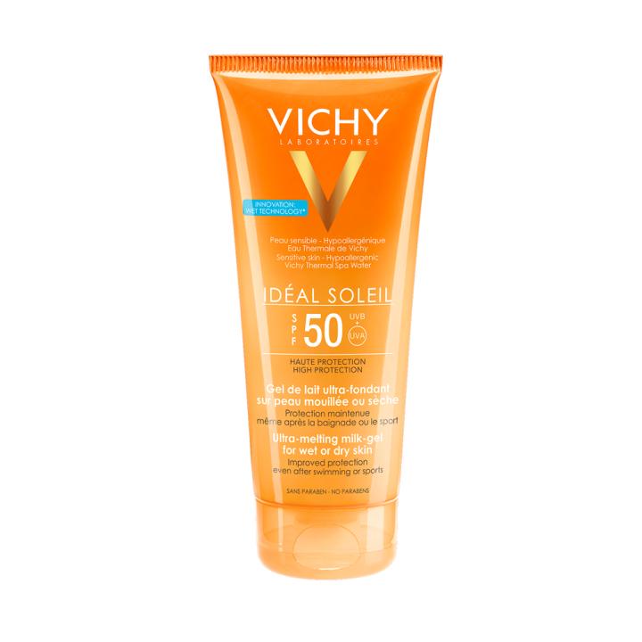 Vichy Ideal Soleil Wet Melting Milk Gel Spf50 200ml