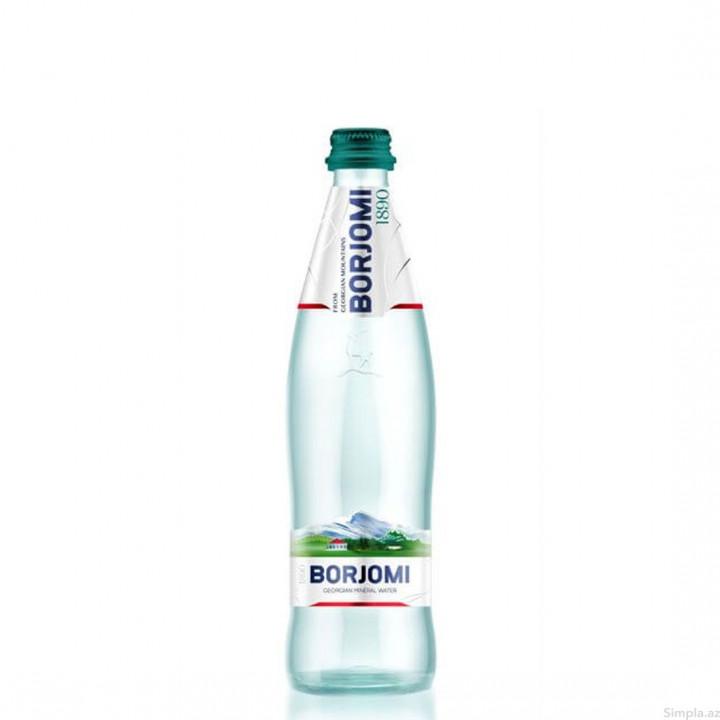 BORJOMI GEORGIAN MINERAL WATER 05L - GLASS