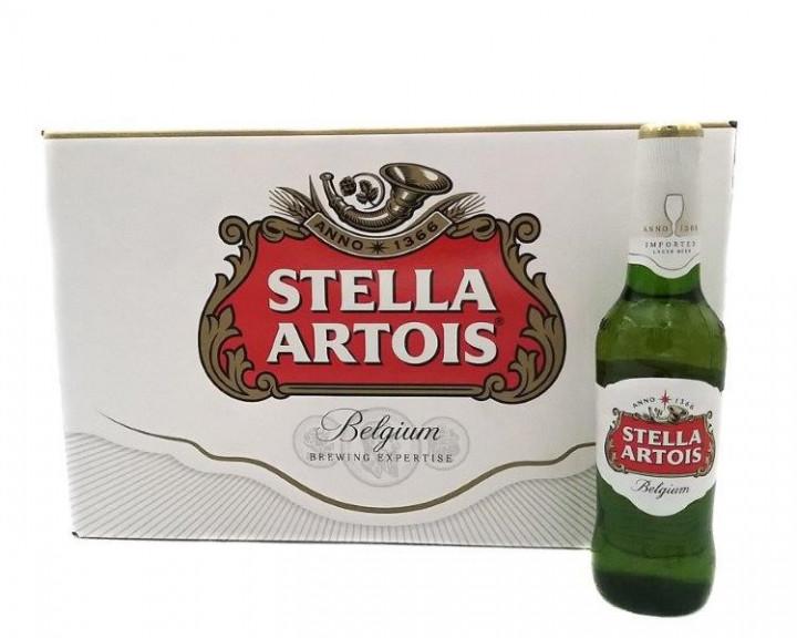 STELLA ARTOIS BOTTLES 24*330ML