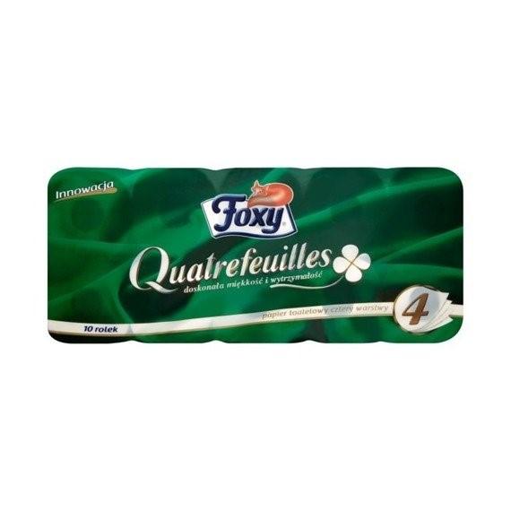 Foxy Toilet paper - 10 rolls - 4ply4.40