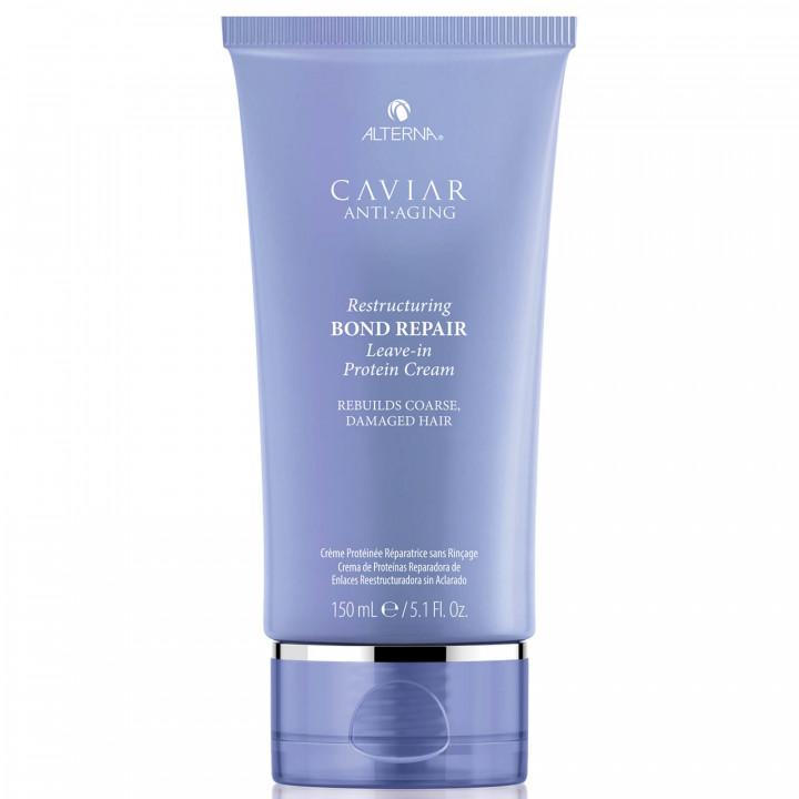Caviar Anti-Aging Restructuring Bond Repair Leave in Protein Cream 150ml