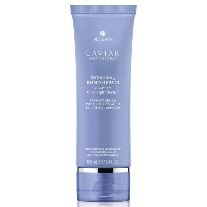Caviar Anti-Aging Restructuring Bond Repair Leave in Overnight Serum 100ml