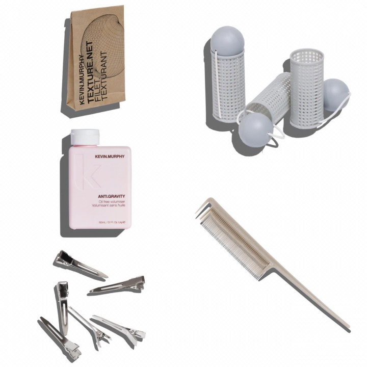 Kevin Murphy Medium.Curlers Styling Kit with Anti Gravity 150ml
