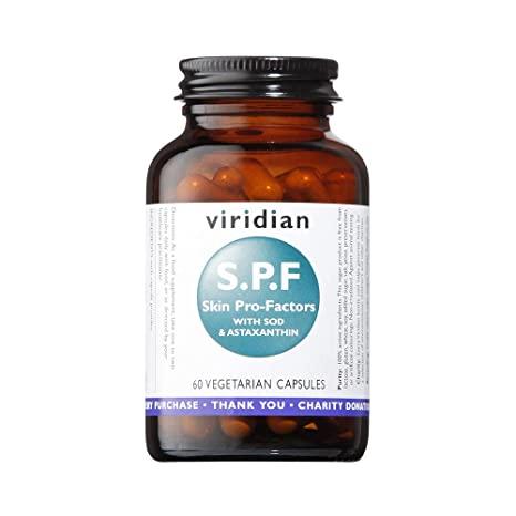 Viridian - SPF Skin Pro-Factors 60 caps