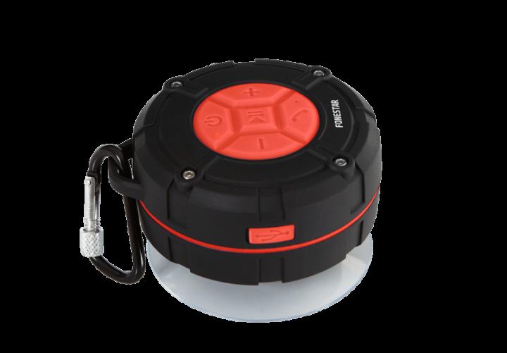 FONESTAR SPLASH - Bluetooth Speaker - Black - Small