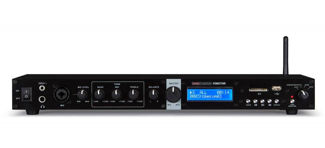 FONESTAR FS-3000RGUB Player  - Black - Medium