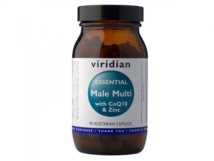 Viridian - Essential Male Multi 90 Veg Caps
