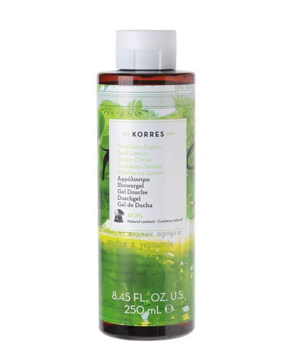 Korres Basil Lemon Shower Gel 250ml