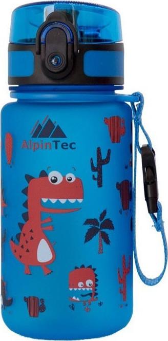 ALPIN TEC WATER BOTTLE KIDS 350ML - DINO BLUE