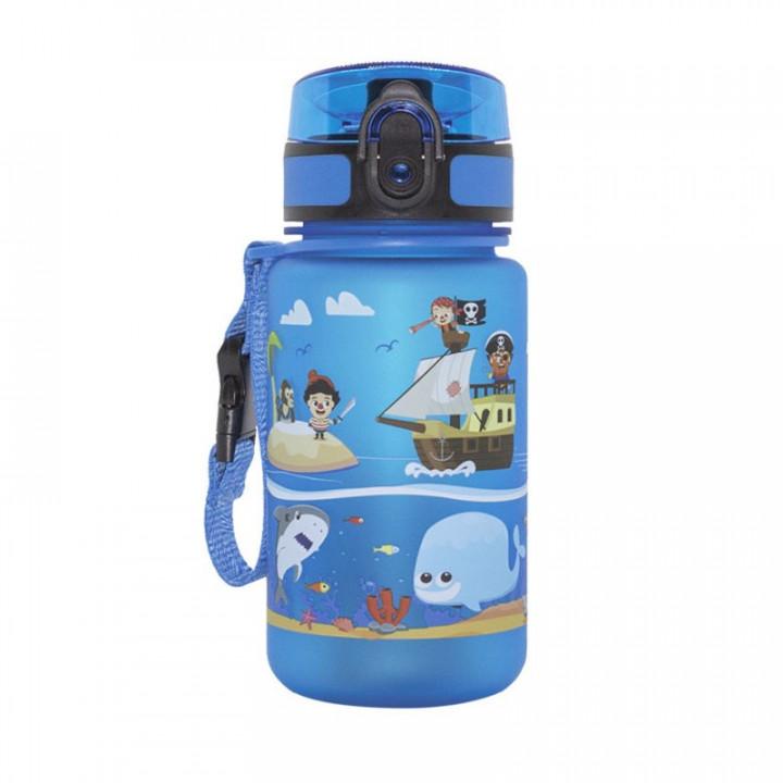 ALPIN TEC WATER BOTTLE KIDS 350ML - BLUE PIRATES