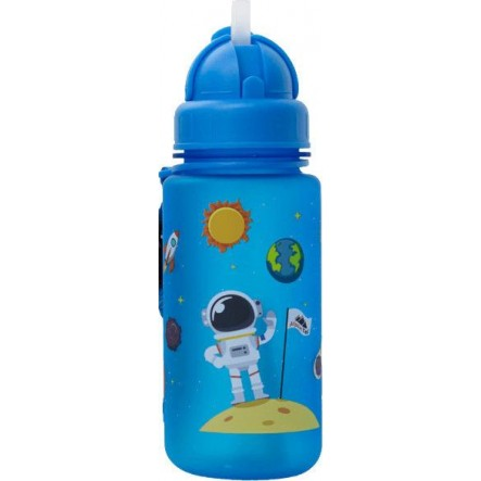 ALPIN TEC WATER BOTTLE KIDS 400ML - SPACE