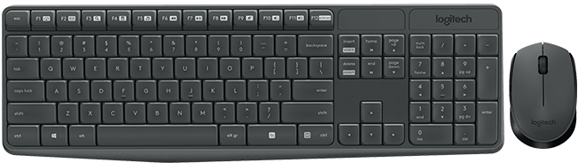 Logitech MK235 Wireless Combo Keyboard GR