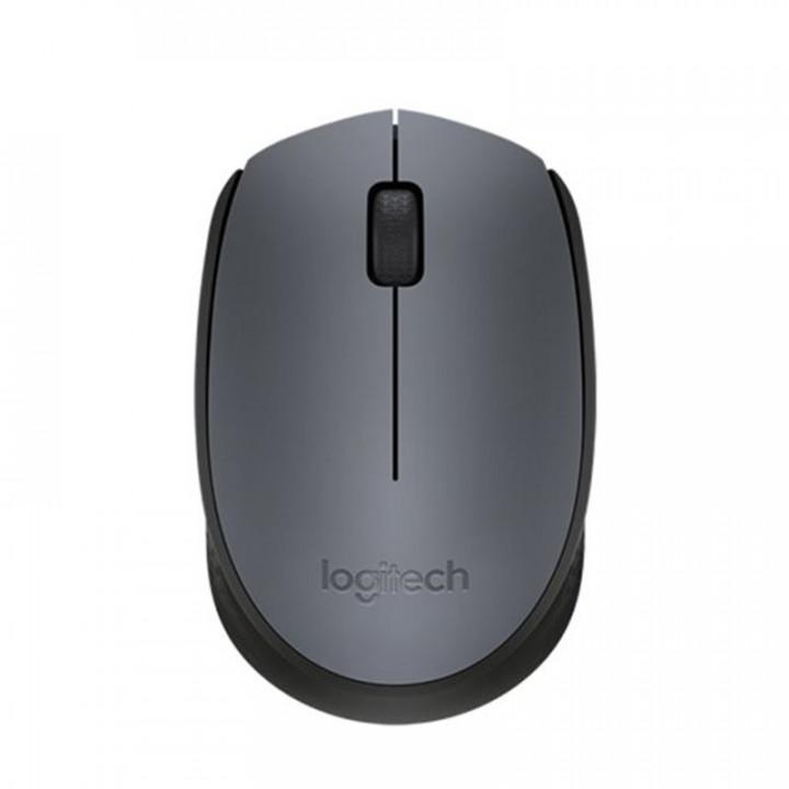 Logitech Mouse M170 Wireless Grey