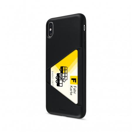 Artwizz TPU Card Case for iPhone XS Max
