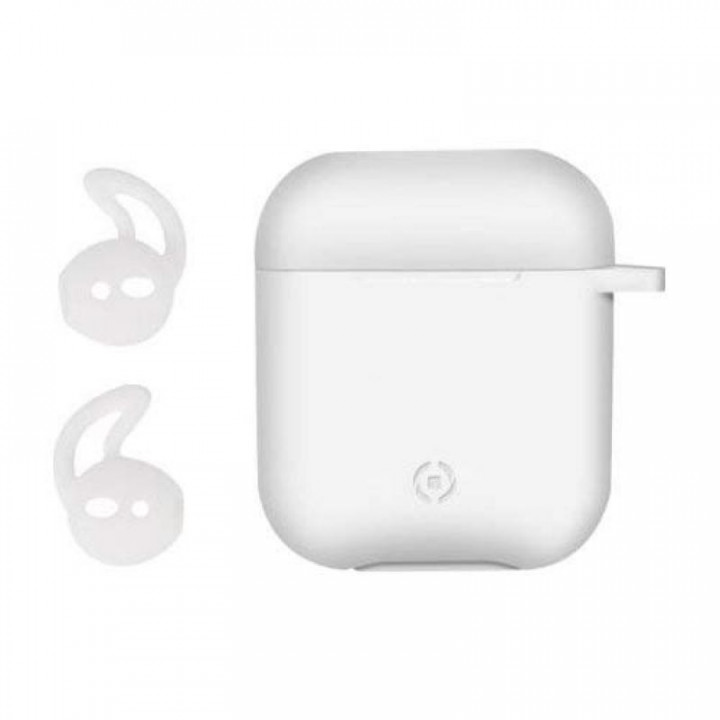 Celly Aircase for Apple Airpods (Feeling) White