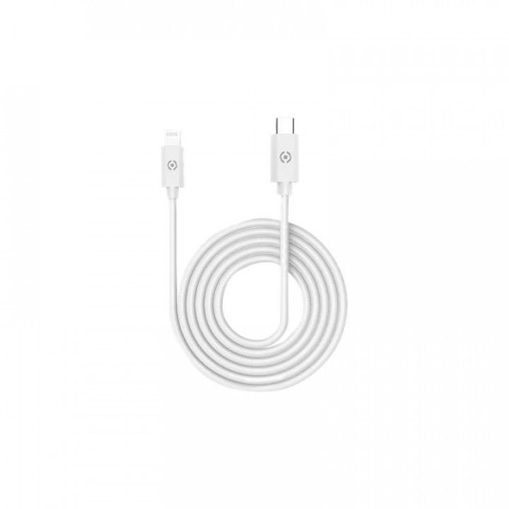 Celly Data Cable Lightning Cable to Type C 1m White