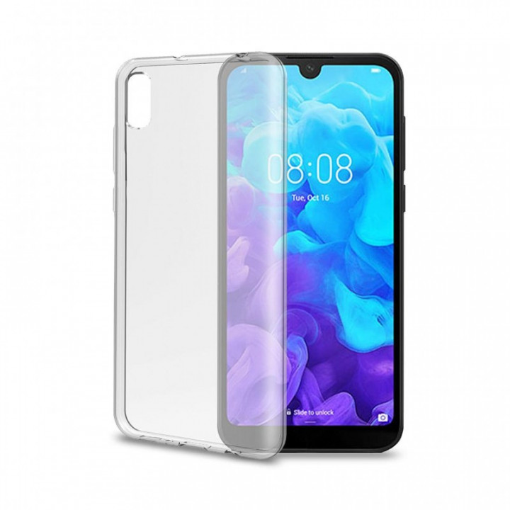 Celly Gelskin Cover For Huawei Y5 (2019) Transparent