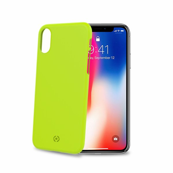 Celly Shock for iPhone Xs Yellow