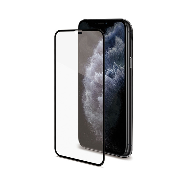 Celly Tempered Glass (Full Glass) for Apple iPhone 11 Pro Black