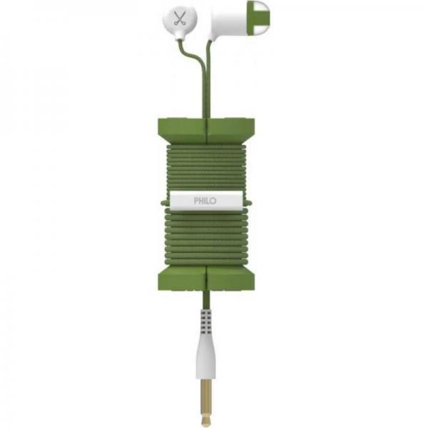 PHILO SPOOL EARPHONES MILITARY GREEN