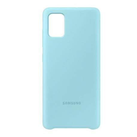 Samsung Silicone Cover for Galaxy A51 Blue