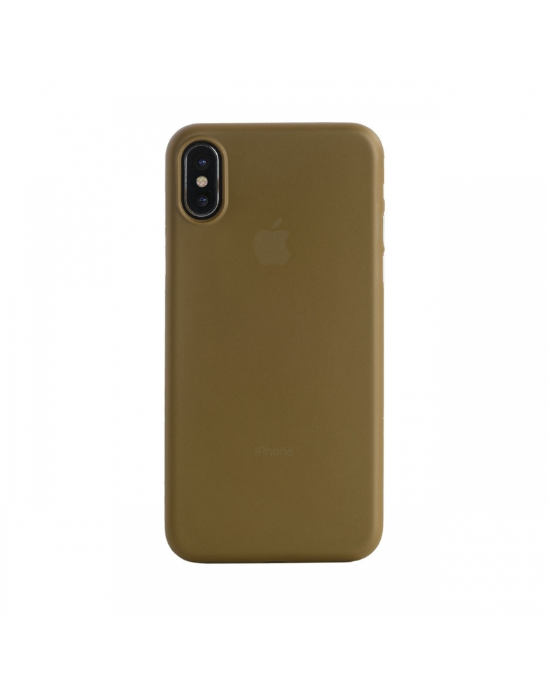 Tucano Nuvola for iPhone X - Gold