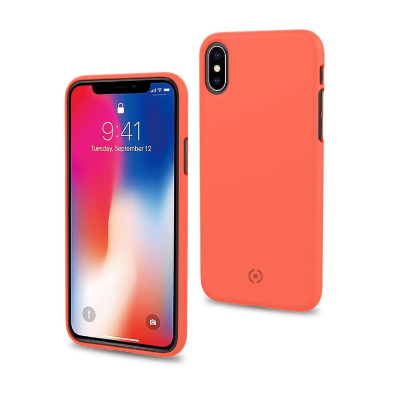 Celly Shock for iPhone Xs Orange