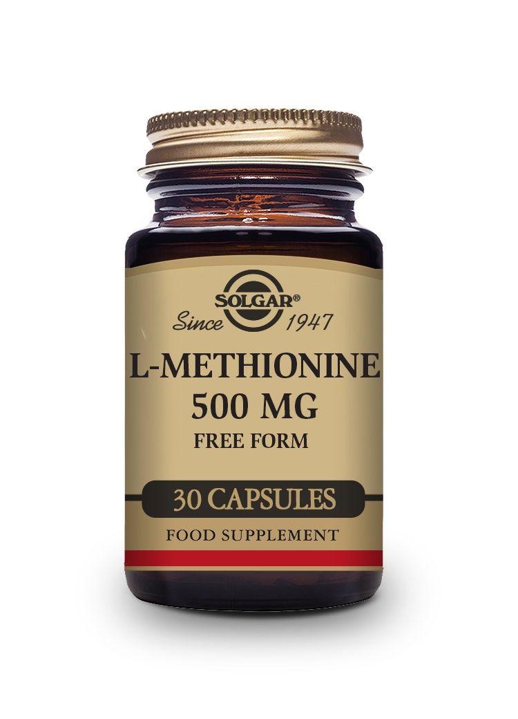 Solgar L-methionine 30 caps x 500mg