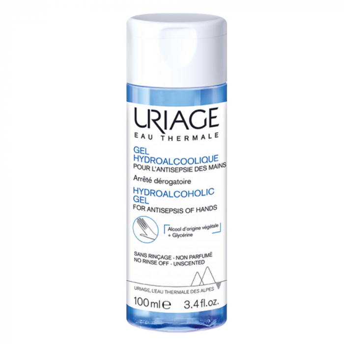 Uriage Hydroalcoholic Gel for Hands 100ml