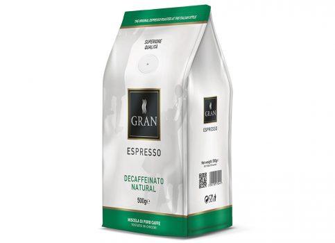 GRAN Espresso DECAF NATURALE  - 500gr