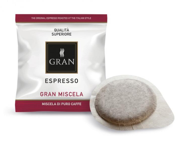 GRAN Caffe | GRAN MISCELA | E.S.E.100 Pods - 1150gr