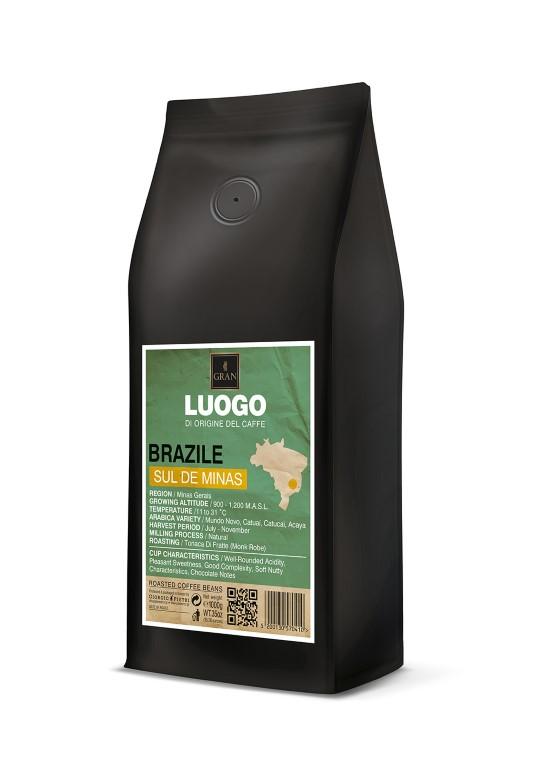 Luogo | Brazil Sul De Minas  | Roasted Coffee Beans - 1000gr