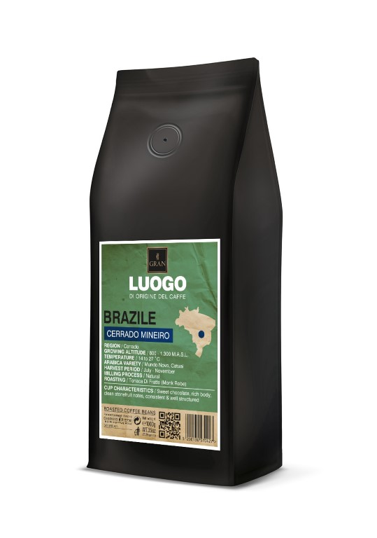 Luogo | Brazil Cerrado Mineiro  | Roasted Coffee Beans - 1000gr