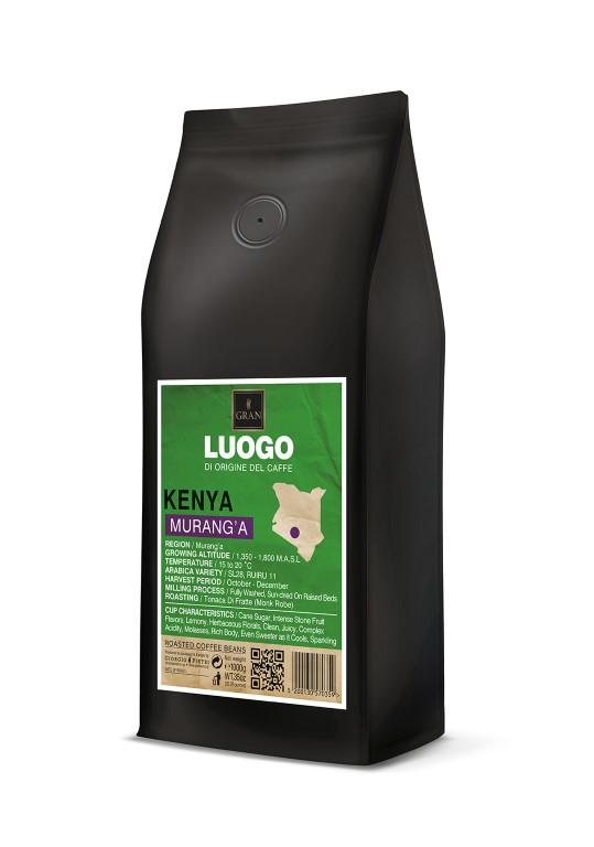 Luogo   Kenya Murang'a   Roasted Coffee Beans  - 1000gr
