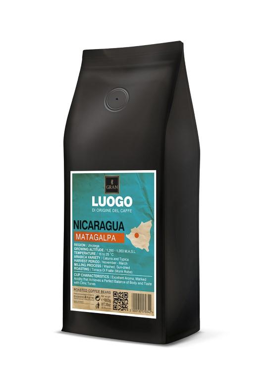 Luogo | Nicaragua Matagalpa | Roasted Coffee Beans - 1000gr