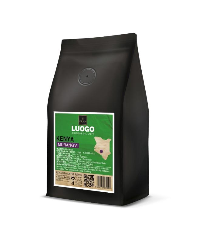 Luogo   Kenya Murang'a   Roasted Coffee Beans - 250gr
