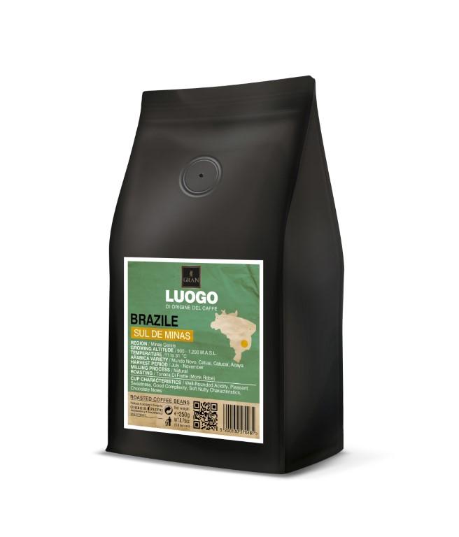 Luogo | Brazil Sul De Minas  | Roasted Coffee Beans - 250gr