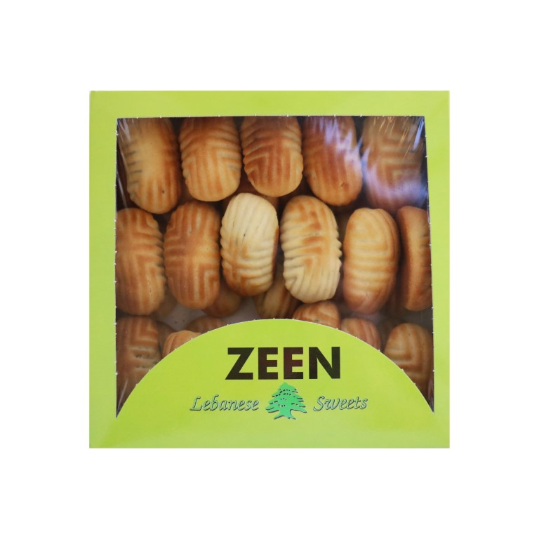 BOX OF LEBANESE MAMOUL WITH PISTACHIOS - 500gr