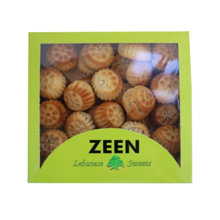 BOX OF LEBANESE MAMOUL WITH DATES - 1kg