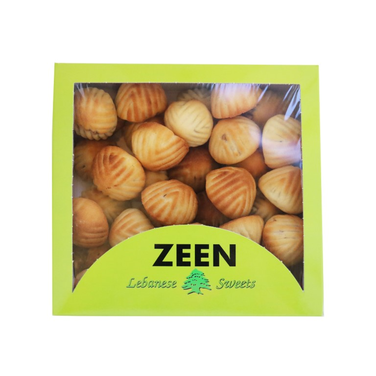 BOX OF LEBANESE MAMOUL WITH WALNUTS - 1kg