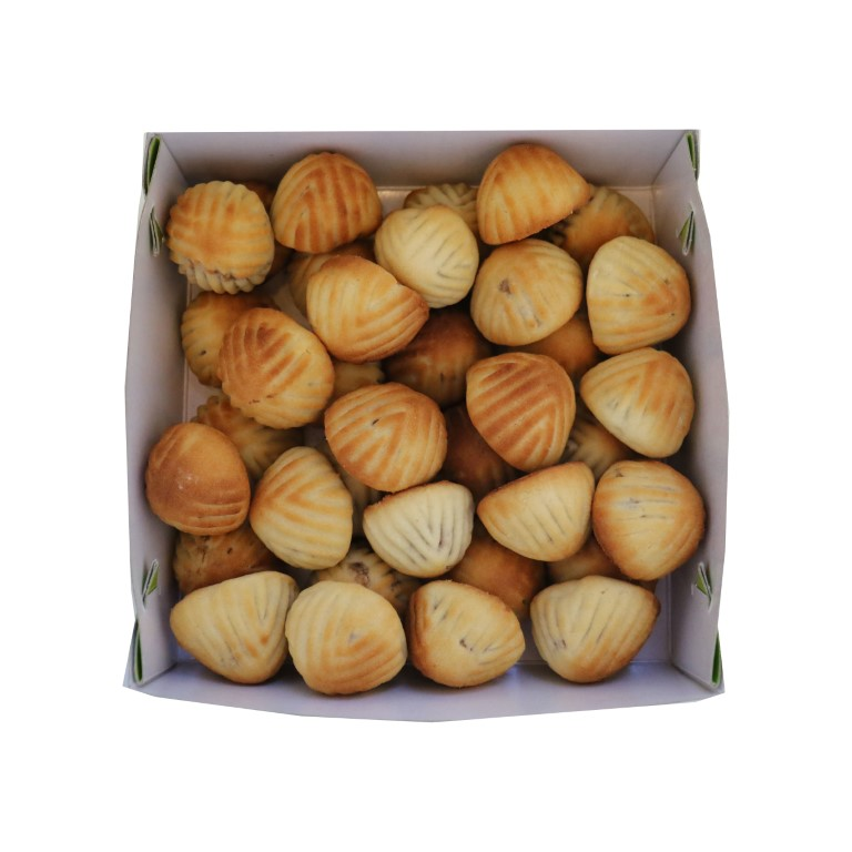 BOX OF LEBANESE MAMOUL WITH WALNUTS - 500gr