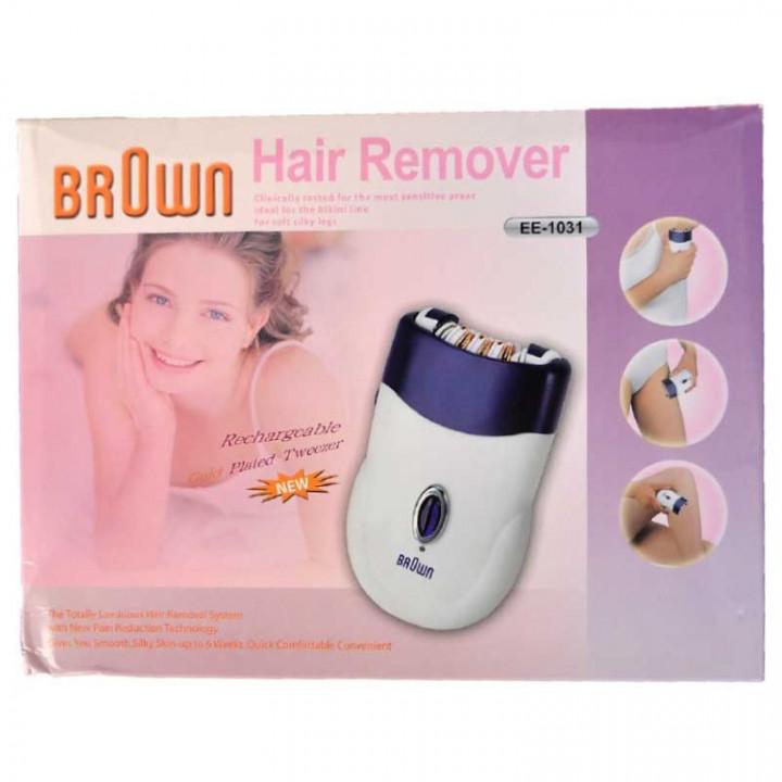 Hair Remover Tweezer - BROWN EE-1031
