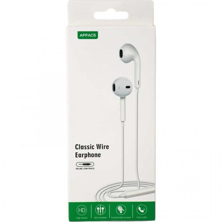 Appacs E15 Earphone+Microphone HD